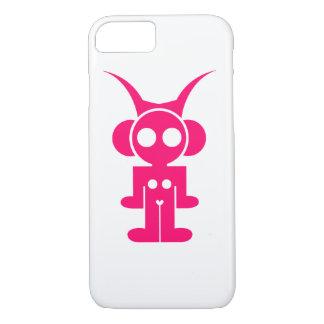 Coque iPhone 7 JE TÉLÉPHONE le logo de rose d'astro de CAS