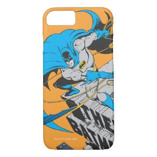 Coque iPhone 7 Jets Batarang de Batman sur le dessus de toit