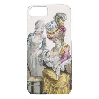 """Coque iPhone 7 Jeune femme dans une robe """"une La Levite"""""""