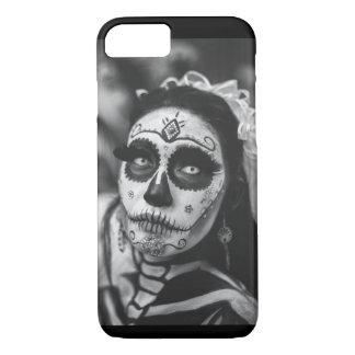 Coque iPhone 7 Jour de Bride Dia de los Muertos morte