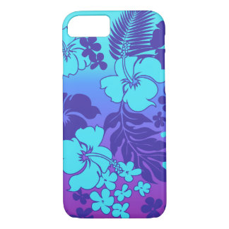 Coque iPhone 7 Ketmie de Hawaïen de mélange de Kona