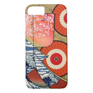 Coque iPhone 7 Kimono Japon