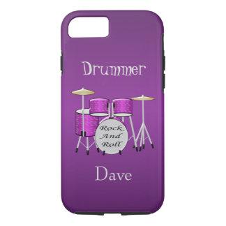 Coque iPhone 7 Kit personnalisé de tambour