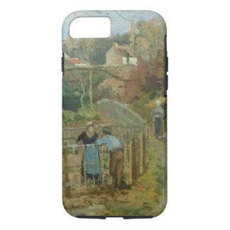 Coque iPhone 7 La barrière, 1872 (huile sur la toile)