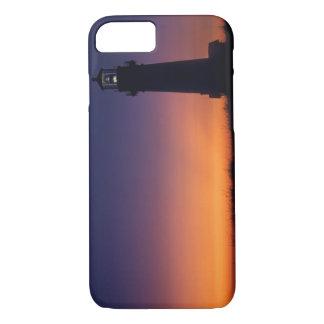 Coque iPhone 7 La boule du soleil se laisse tomber vers le bas