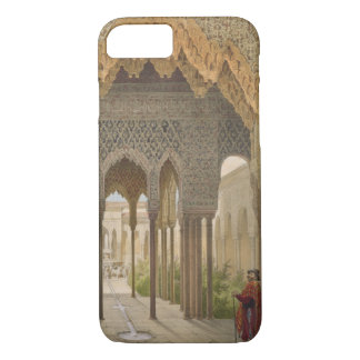 Coque iPhone 7 La cour des lions, Alhambra, Grenade, 185