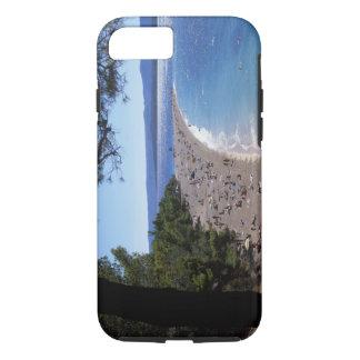 Coque iPhone 7 La Croatie, île de Brac, Bol, plage d'or de cap