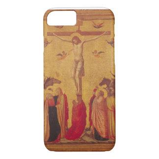 Coque iPhone 7 La crucifixion (tempera sur le panneau)