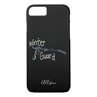 Coque iPhone 7 La danse de rotation de garde d'hiver exécutent