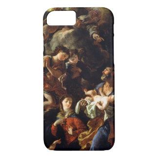 Coque iPhone 7 La famille sainte (huile sur la toile)