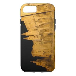 Coque iPhone 7 La France, Avignon, Provence, palais papal la nuit