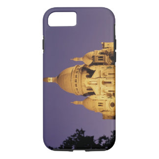 Coque iPhone 7 La France, Paris, Sacré-Coeur au crépuscule