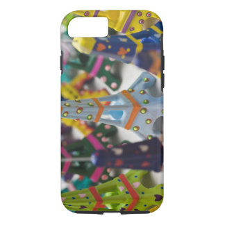 Coque iPhone 7 La France, Paris, Tours Eiffel miniatures