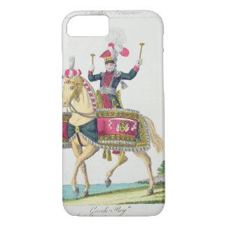 Coque iPhone 7 La garde royale : un Kettledrummer de Lancers, p