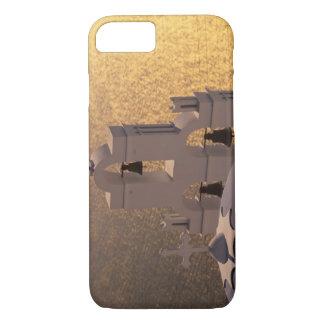 Coque iPhone 7 La Grèce, îles de Cyclades, Santorini, Thira,