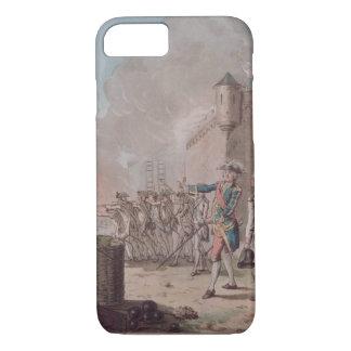 Coque iPhone 7 La levée du siège de Pondicherry, 1748, gravent