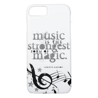 Coque iPhone 7 La musique est magique !