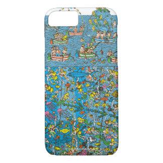 Coque iPhone 7 Là où est les plongeurs de mer profonde de Waldo