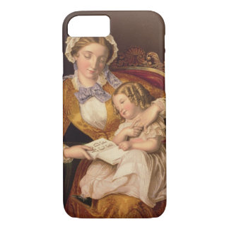 Coque iPhone 7 La première leçon, pub. par Baxter, 1855 ()