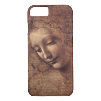 Coque iPhone 7 La principale femelle Scapigliata par Leonardo da