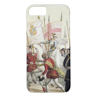 Coque iPhone 7 La Reine Elizabeth I (1530-1603) rassemblant les
