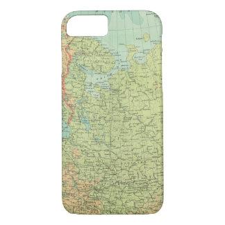 Coque iPhone 7 La Russie et la Finlande du nord