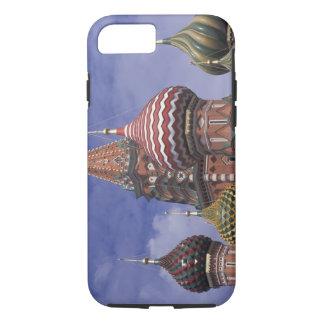 Coque iPhone 7 La Russie, Moscou, carré rouge. oignons célèbres