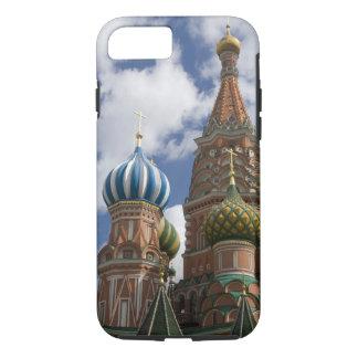 Coque iPhone 7 La Russie, Moscou, carré rouge. St Basil 4