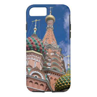 Coque iPhone 7 La Russie, Moscou, carré rouge. St Basil 5
