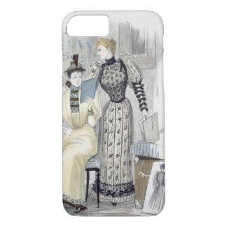 """Coque iPhone 7 La saison, plat de mode pour """"la reine"""", Septemb"""