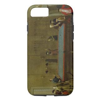 Coque iPhone 7 La salle de billard (huile sur la toile)