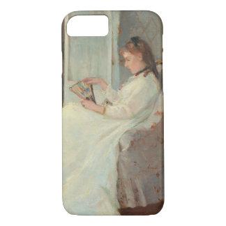 Coque iPhone 7 La soeur de l'artiste à une fenêtre, 1869