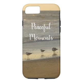 Coque iPhone 7 La sterne triche des oiseaux que l'océan de plage