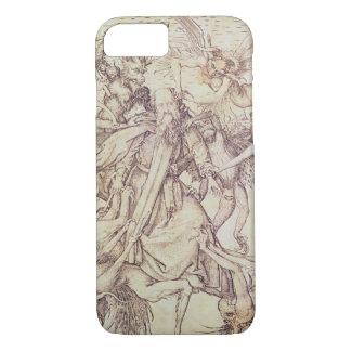 Coque iPhone 7 La tentation de St Anthony (gravure)