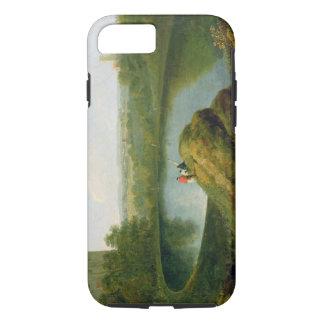 Coque iPhone 7 La tête du lac Nemi (huile sur la toile)