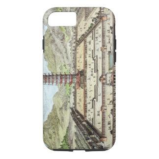 Coque iPhone 7 La tour de porcelaine de Nan-King, plaquent 12 de