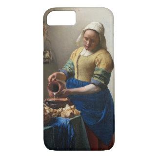 Coque iPhone 7 La trayeuse par Johannes Vermeer