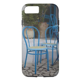 Coque iPhone 7 La Tunisie, Sidi Bou a dit, chaises de café