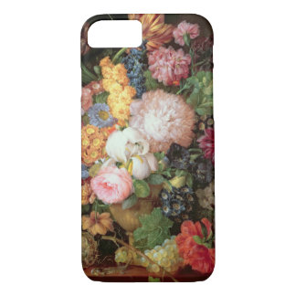 Coque iPhone 7 La vie de T30763 A toujours des fleurs et du fruit