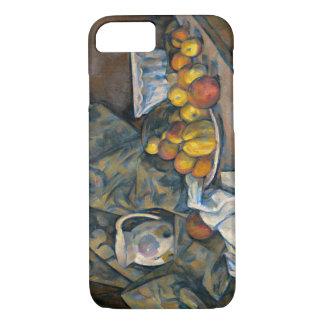 Coque iPhone 7 La vie toujours avec les pommes et les pêches,