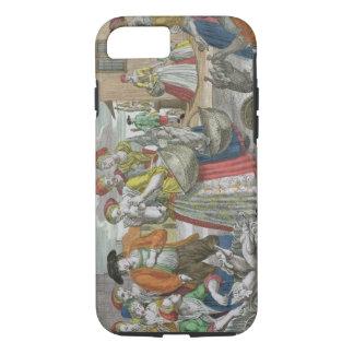 Coque iPhone 7 La volaille lancent sur le marché (la gravure
