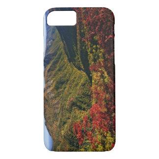 Coque iPhone 7 La vue d'automne de la gorge de Linville a souvent