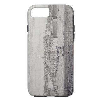 Coque iPhone 7 La vue du sud de Berwick sur le tweed, c.1743-45