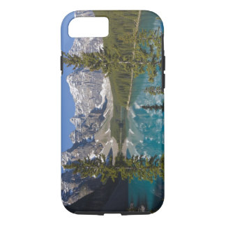 Coque iPhone 7 Lac moraine, Canadien les Rocheuses, Alberta,
