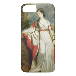 Coque iPhone 7 Lancer d'Elizabeth, duchesse de Hamilton et