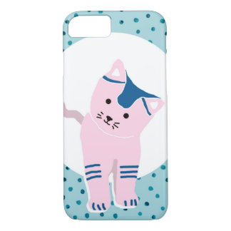 COQUE iPhone 7 L'ANIMAL FAMILIER - CHATON