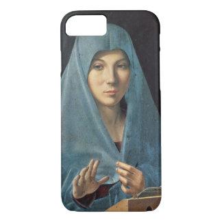 Coque iPhone 7 L'annonce, 1474-75 (huile sur le panneau)