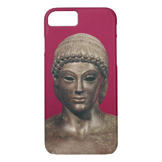 Coque iPhone 7 L'Apollo de Piombino, tête de la statue, a trouvé