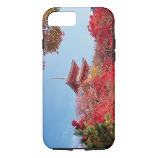Coque iPhone 7 L'Asie, Japon, Kyoto. Couleur d'automne