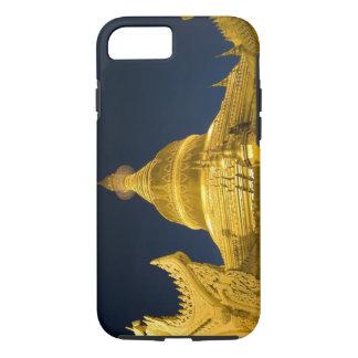 Coque iPhone 7 L'Asie, Maynmar, Yangon, temple bouddhiste à